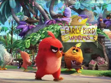 Second Boneka Leonard Pig angry birds trailer features birds pigs and anger management issues
