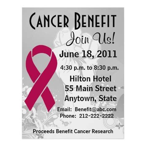 Breast Cancer Awareness Fundraiser Flyers