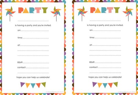 free printable birthday invitations 12 year olds best compilation of printable birthday party invitations
