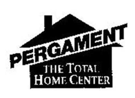 pergament the total home center trademark of pergament