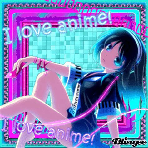 love songs girl i love anime 176 music girl 176 picture 112317524 blingee com
