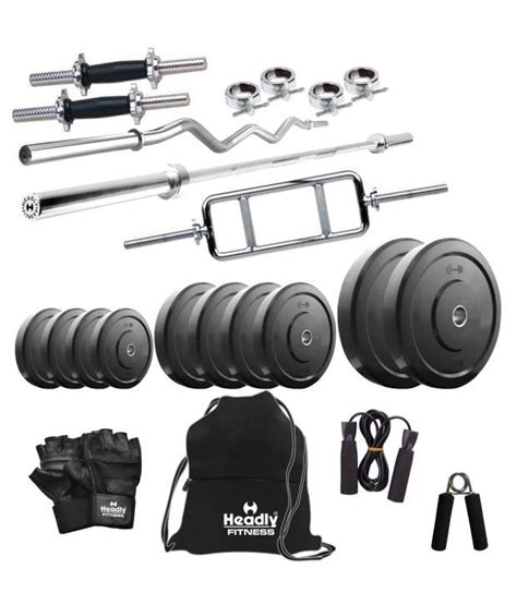 headly 100 kg home 14 inch dumbbells 3 rods