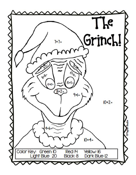 grinch coloring pages games the creative colorful classroom grinch day plans