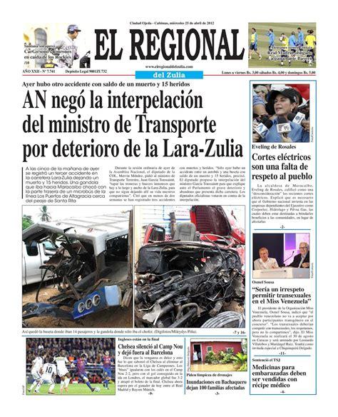 el regonal del zulia calam 233 o el regional del zulia 25 04 2012