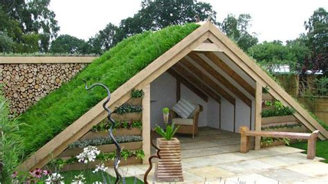 Green Roof Shed Plans by Green Roof Shed