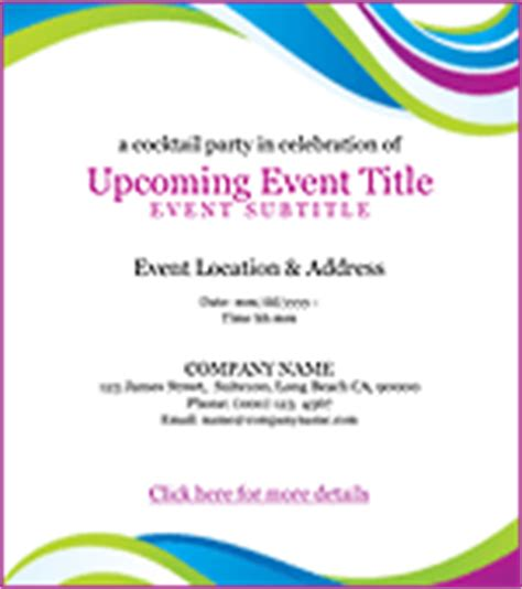 event invitation template email invitations benchmark email