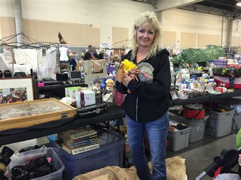 saturday event not just a garage sale it s hundreds of