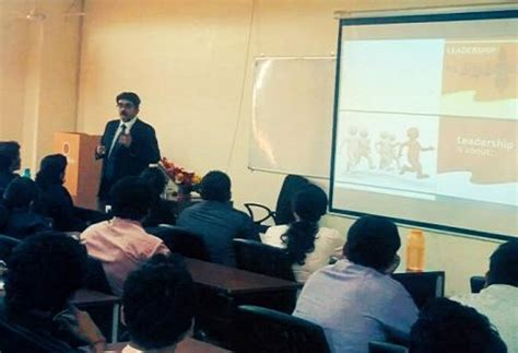 Sri Sri Mba Placements by Mr Rajeev Bhadauria Director Hr Of Jindal Steel
