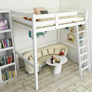 Cheap High Sleeper Beds by Uk Childrens High Sleeper Bed Pine Loft Cabin Wooden High