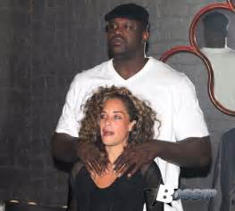 Shaquille o neal seen kissing new girlfriend laticia rolle in paris