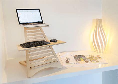 turn your desk into a standing desk turn desk into standing desk