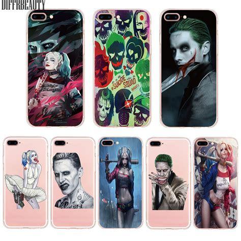 Harley Quenn Batman Iphone 5 5s Se 6 Plus 4s Samsung Htc Cases aliexpress buy squad joker harley quinn for iphone 6 7 7plus 6plus 6s 5s se