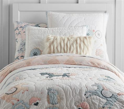 pottery barn comforters and quilts clara horse quilted bedding pottery barn kids