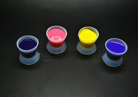 tattoo ink cups soft silica gel ink cup large size 25mm soft