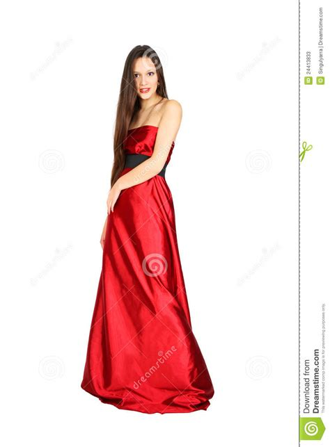 Stages Dress Gil beautiful wearing dress stock image image