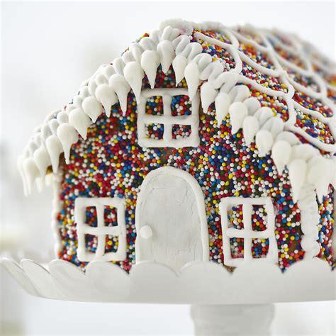 sprinkles  fun gingerbread house wilton