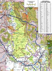 map of idaho large detailed roads and highways map of idaho state with all cities and national parks