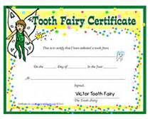 free printable tooth certificate template free tooth certificates printable templates