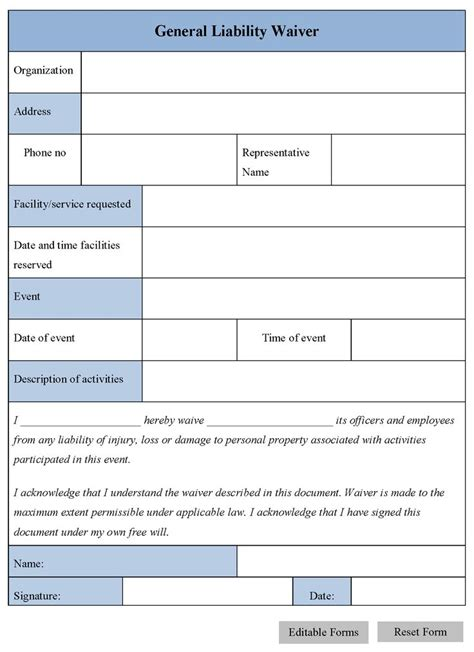 The 25 Best General Liability Ideas On Pinterest Legal Forms Bill Of Sale Template And General Liability Waiver Form Template
