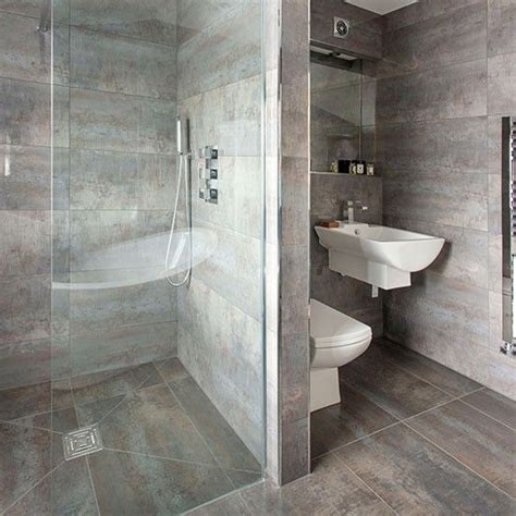 Gray Tile Bathroom Ideas Looking Bath Mat Grey Tile Bathrooms Grey And Grey Bathrooms