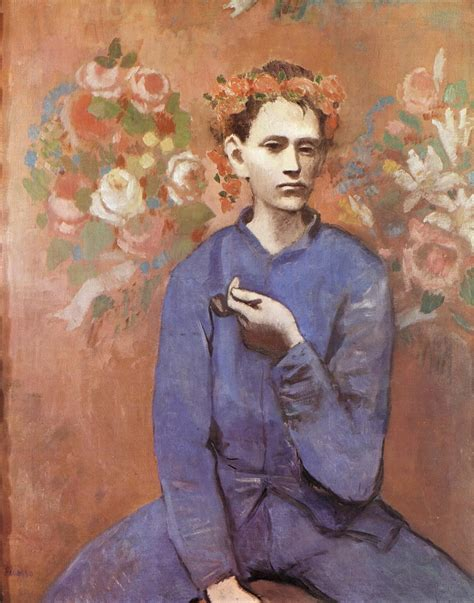 Boy With A Pipe 1905 Pablo Picasso Wallpaper Image