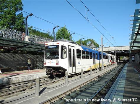 urbanrail net gt usa gt portland light rail