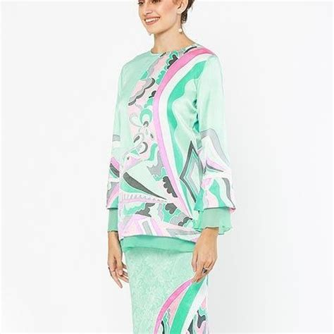 Baju Kurung Moden Pastel Colour modern baju kurung colours and styles you ll want to wear this raya
