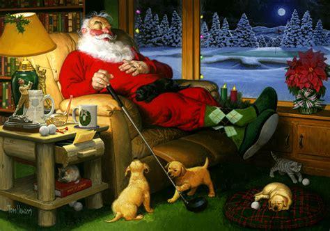 Santa Claus Family New Year Kaos Natal T Shirt merry world golf tour