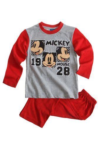 Raglan Mickey Mickey 03 12 48 boys disney mickey mouse pyjamas nightwear age 3 4