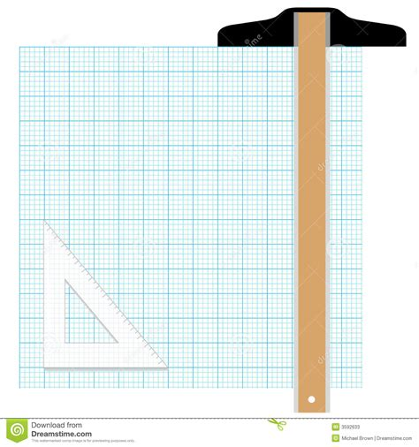 graph tool graph paper drafting tools stock photos image 3592633