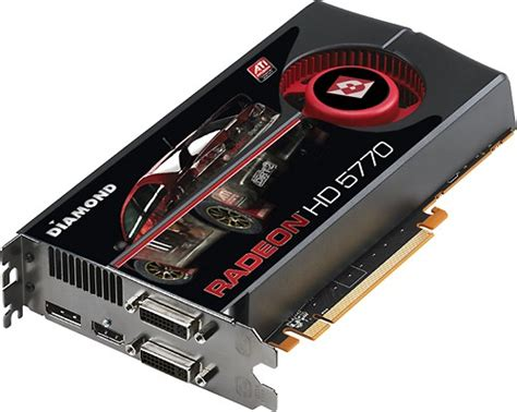 Vga Ati Radeon Hd 5770 multimedia amd ati radeon hd 5770 1024mb gddr5 pci express 2 0 graphics card 5770pe51gsb