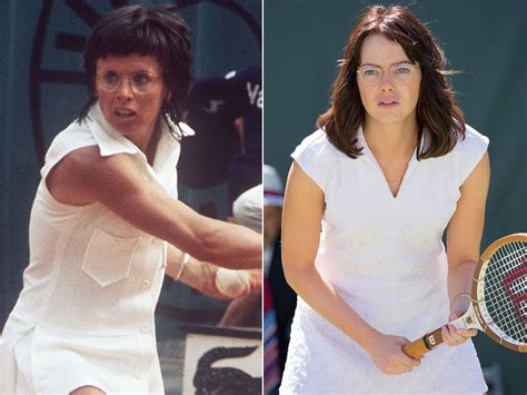 emma stone billie jean king when billie beat bobby the true story behind battles of