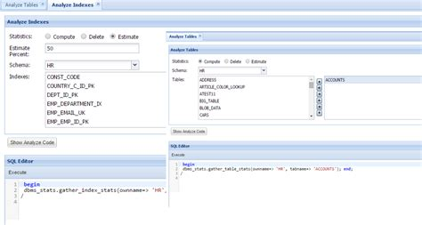 oracle sql create table oracle database management system web based oracle tool