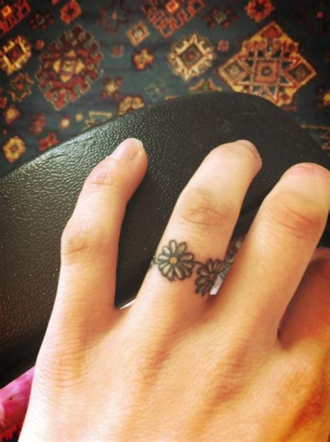 small ring tattoos small tattoos on ring finger tattooshunt
