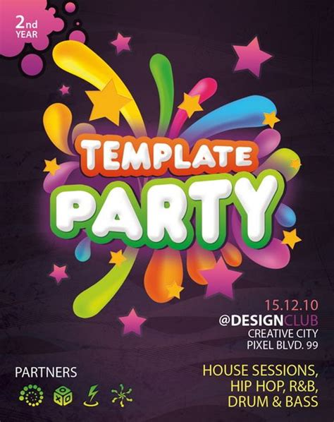 download 30 free poster flyer templates in psd ginva