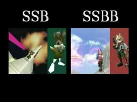 Bros A39 ssbb vs ssb64 intro comparison