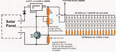 Adaptor Power Monitor Dc 18v 2 67a Central Pin how to make a home solar electricity set up circuit for an