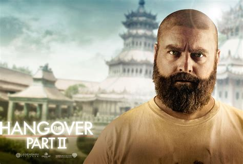 hangover actor with beard wallpaper hangover part ii zach galifianakis alan garner