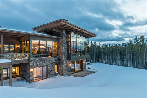 johnson residence big sky sala architects inc yellowstone club custom home big sky build
