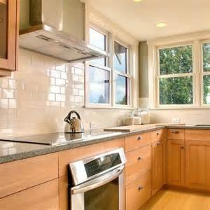 Kitchen Cabinet Tiles Subway Tile Maple Cabinets White Subway Tile Backsplash Maple Cabinets Subway Tile