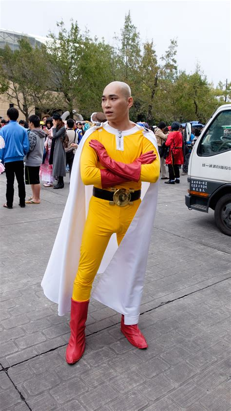 file anime one punch man file cosplayer of saitama one punch man at cwt41