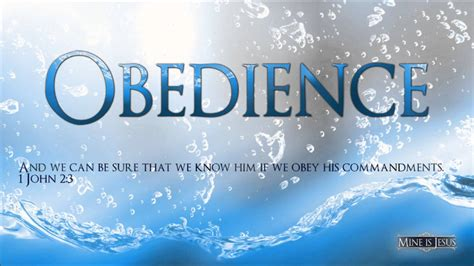 how to obedience to a obedience an essential part of the christian