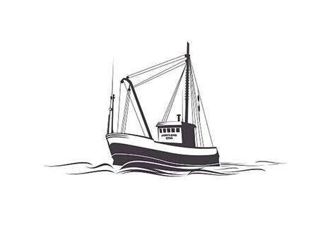fishing boat clipart vector royalty free fishing boat clip art vector images