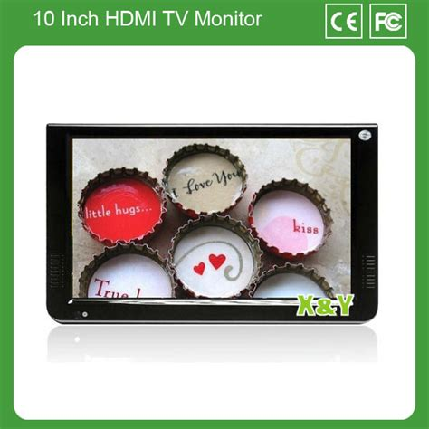 Tv Mobil 10 Inch by 10 Inch Hdmi Monitor Tv Tuner 10 Inch Mobil Media Player