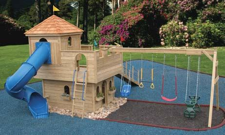 castle swing set plans zen seeker s castle playhouse page