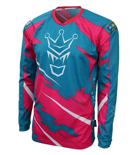 jersey motocross custom motocross jersey w moisture wicking mesh racer ink