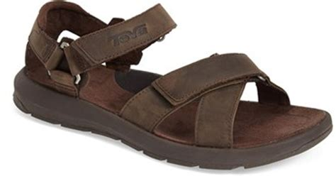 turkish leather sandals teva berkeley leather sandal in brown for turkish