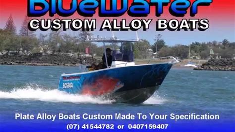 boats unlimited pty ltd bluewater custom alloy 4 9m vnose punt youtube