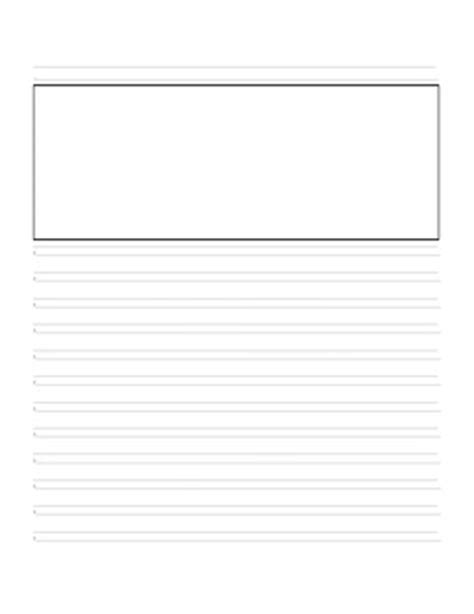 printable handwriting without tears lined paper story paper for those using handwriting without tears