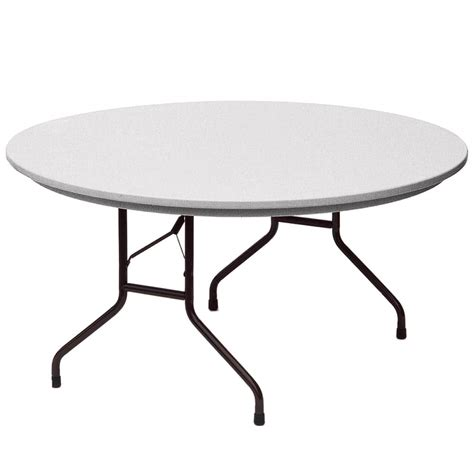 Heavy Duty Folding Table Correll R60 23 60 Quot Gray Granite Molded Plastic Heavy Duty Folding Table